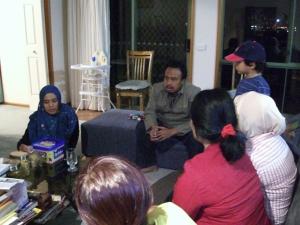 erdialog dengan warga Indonesia (dok. pribadi)