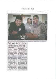 Dimuat di koran lokal: bordermail.com.au (dok. pribadi)