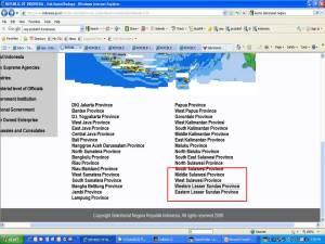 Tampilan di www.indonesia.go.id