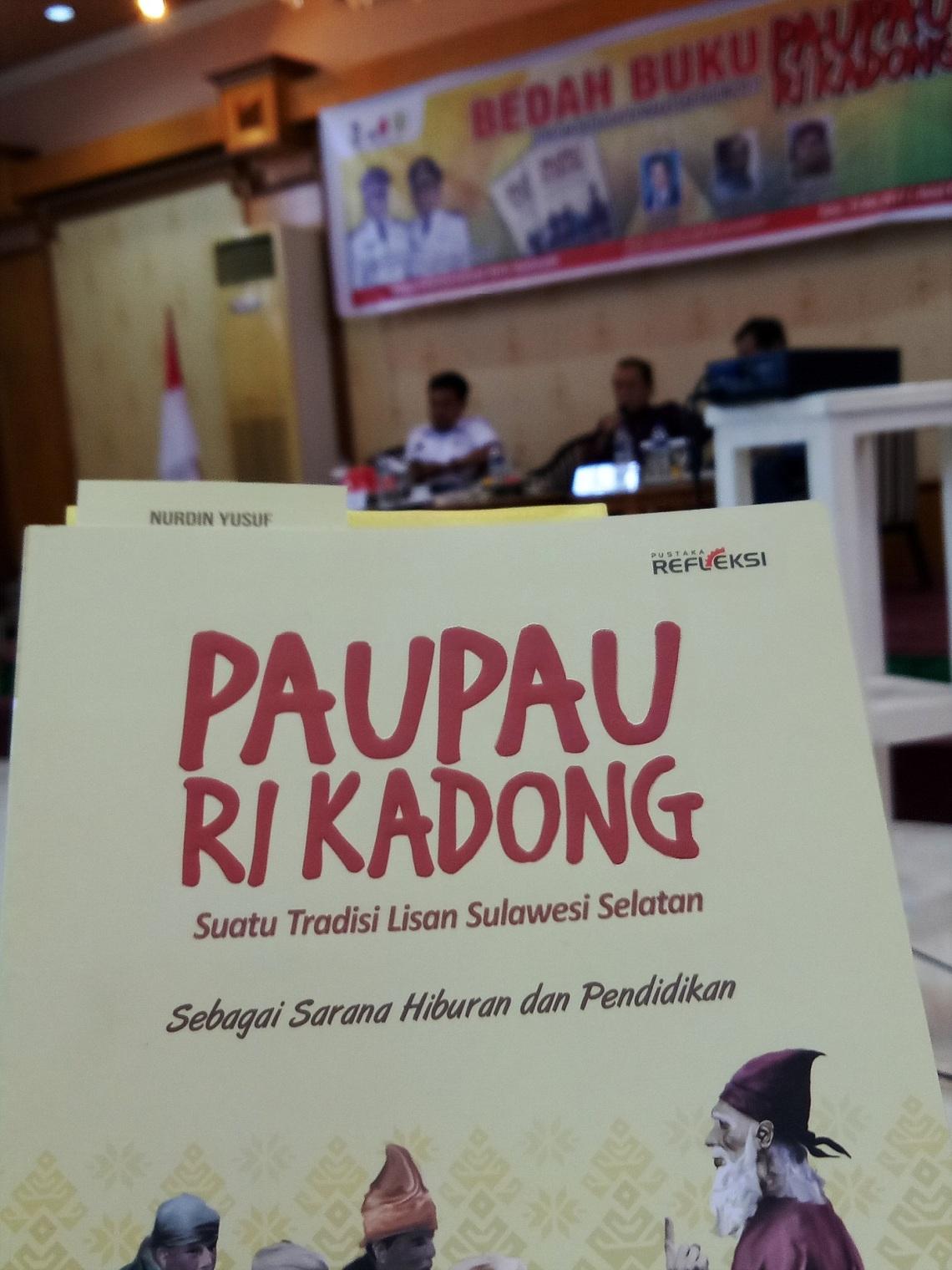 Acara bedah buku Paupau ri Kadong