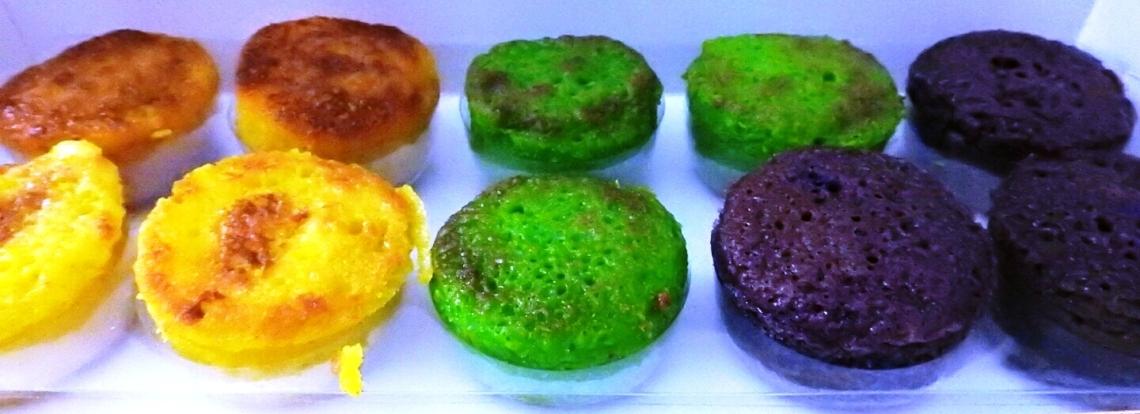 Bika Bogor mini dengan berbagai varian rasa